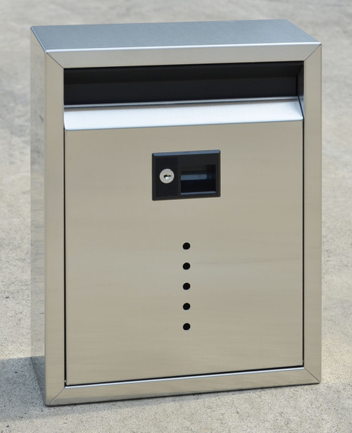 Large Stainless Steel Wall Drop Box