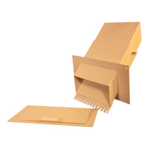 Adjustable Through the Wall Mail Drop Slot
