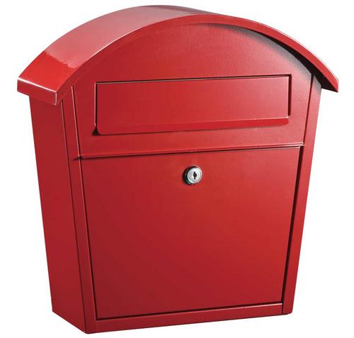 Modern Locking Wall Mounted Mailbox