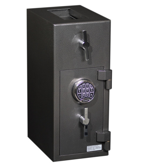 Large Rotary Hopper Bank Bag Depository Drop Safe (PSRD2410) locked