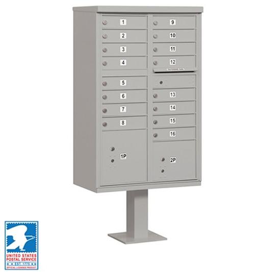 16 Unit Cluster CBU Locking Mailboxes