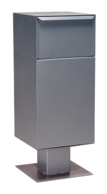 large parcel locking drop box with pedestal locking. Black Bedroom Furniture Sets. Home Design Ideas