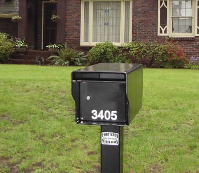 Heavy Duty Locking Mailbox Standard Column Locking Mailboxes