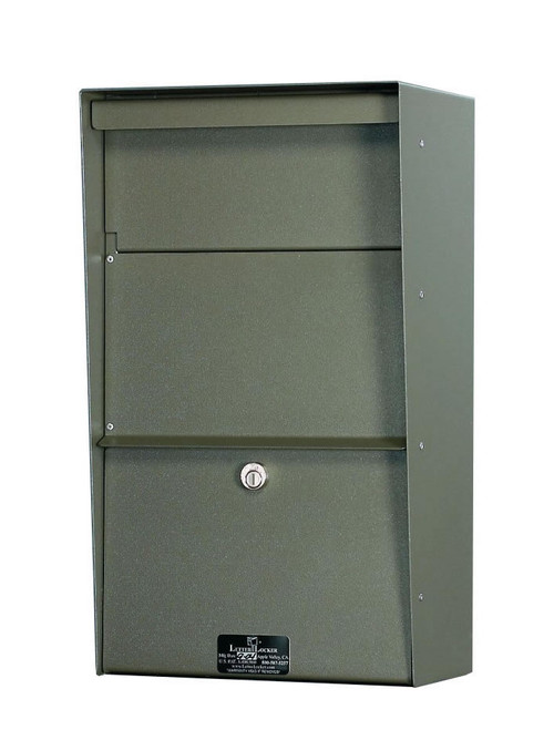 Large Locking Wall Mounted Mailbox Best Selling Security