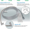 Uni-flo2 7' Soft Nasal Cannula - Single Side Usage