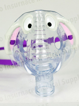 Eden the Elephant Pediatric Aerosol Mask