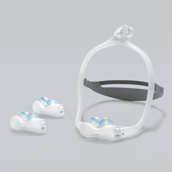 DreamWear Gel Nasal Pillow Mask with Headgear