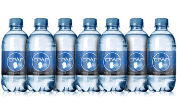 CPAP H2O Premium Distilled Water - 14 Bottle Pack