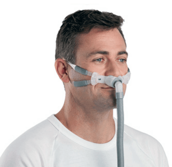 Swift FX Bella Gray Nasal Pillows System with Headgear