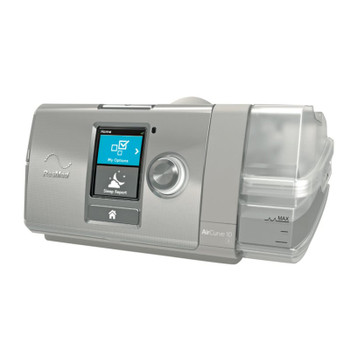ResMed AirCurve 10 ASV w/HumidAir Humidifier & ClimateLine Air (37216)