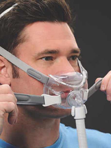 Amara View Full Face Cpap Mask With Headgear At No