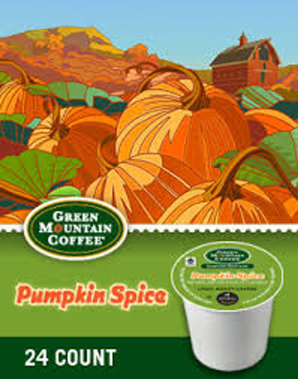 Enjoy Pumpkin Spice, a special, spicy autumn flavor, all made from your Keurig brewer and these gourmet single portion packs. Straight from the gourmet single portion pack to your home brewing system! The Pumpkin Spice blend, a creamy coffee tasting just as fall's best pumpkin dishes should, is made from 100% Arabica coffee beans and is Fair Trade Certified Organic.