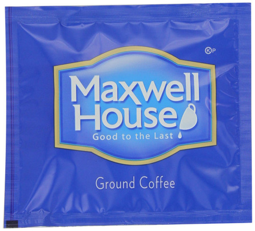 Maxwell House Filter Packs Coffee filters allow you to enjoy Maxwell House Coffee whenever you want. Each filter delivers four to six cups of coffee. Maxwell House filter packs are easy to use with no cleanup and no guess work, and they are meant for all coffee makers. Just insert, brew your coffee, and conveniently dispose of the filter when you're through. Enjoy your cup of Maxwell House Coffee without compromise. With its distinguished legacy, Maxwell House is a brand you can trust when you need a great cup of coffee to get you going.