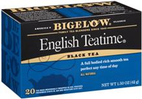 Typically English, rich in flavor, and appropriate for any tea drinking occasion.