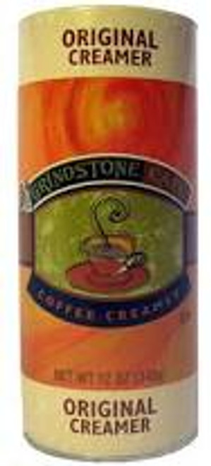 Grindstone 12 Ounce Creamer Canister. Perfect for your restaurant, convenience store, or cafe. Sturdy canister construction ensures durability and easy use.