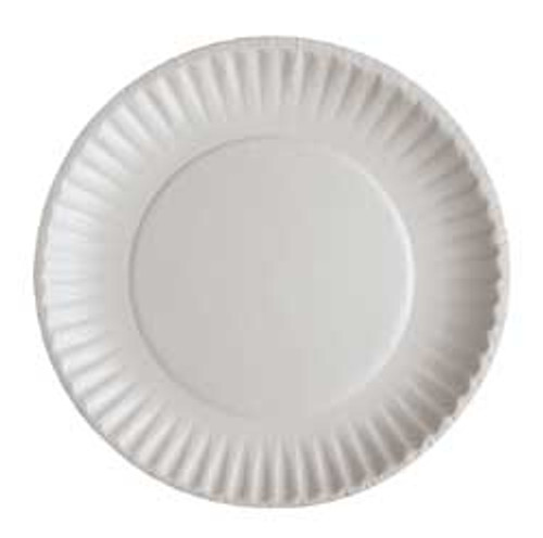 Paper Plates made from 100% paper and Microwave Safe.