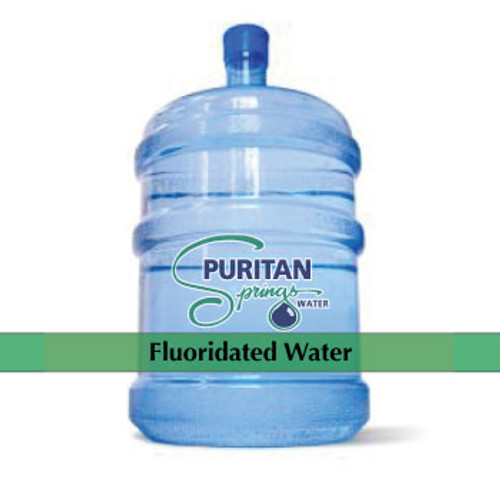 Our fluoridated water is a variation of our drinking water. Through a controlled process, we add fluoride to your drinking water to help assist with the prevention of tooth decay.  Green Cap