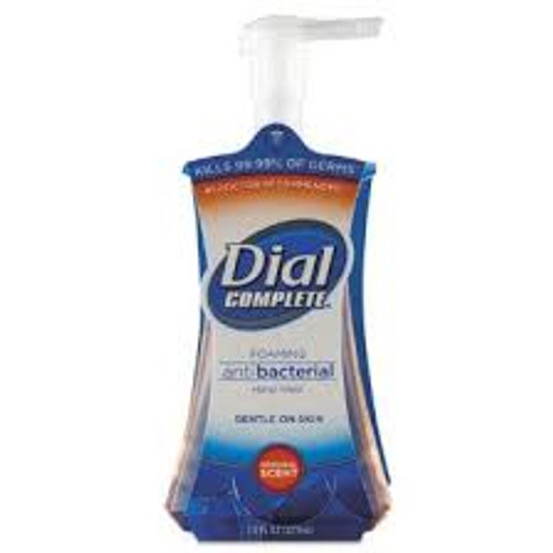 Dial Foaming Hand Wash Hospital-strength antibacterial soap is 10 times more effective at killing germs than ordinary liquid soap. Activ-Foam System provides instant lather. Gentle rinses clean.