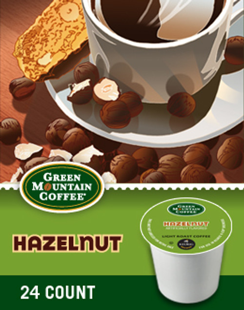 Our Hazelnut coffee offers the toasted, buttery hazelnut flavor that everybody loves — and, we believe — in just the right proportions.
