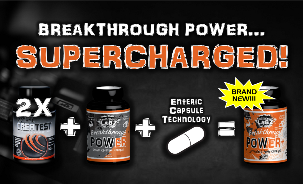 WHAT?! Breakthrough POWER Super Upgrade! POWER+ = POWER + More Stuff!