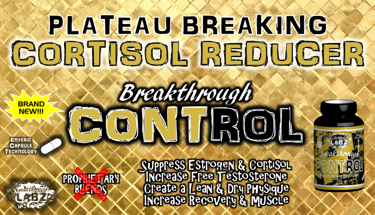 ​Unlock the Ability to Lose Weight, Build Muscle, Recover Faster, & Feel Better Overall – Breakthrough CONTROL