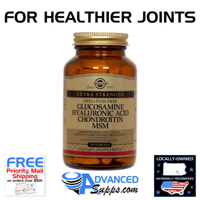 Glucosamine Hyaluronic Acid Chondroitin MSM (60 tablets)