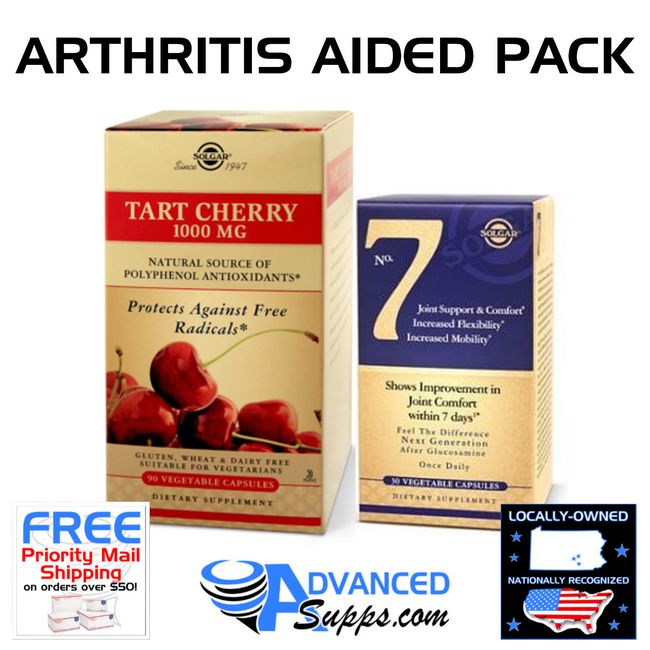 TART CHERRY & NO. 7: Arthritis Aided Pack