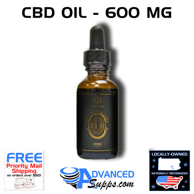 Bare Roots CBD Oil - 600 MG