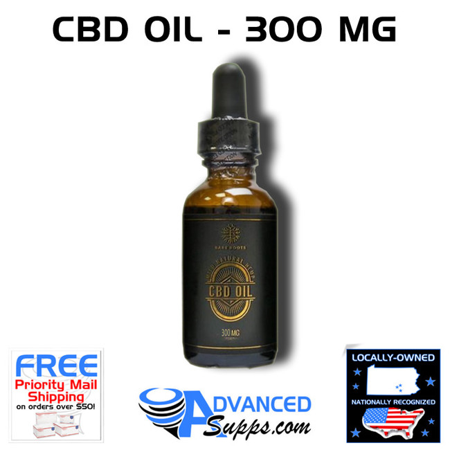 Bare Roots CBD Oil - 300 MG