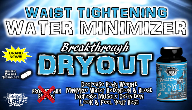 ​Breakthrough DRYOUT: Minimize Water Retention & Expose Lean Muscle