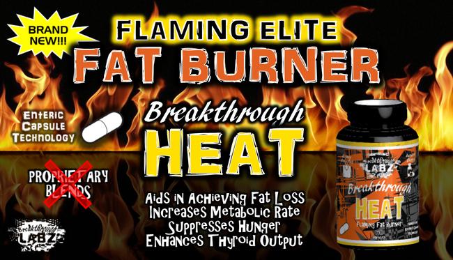 Breakthrough HEAT: Flaming Fat Burner, Appetite Suppressant, & Thyroid Enhancer