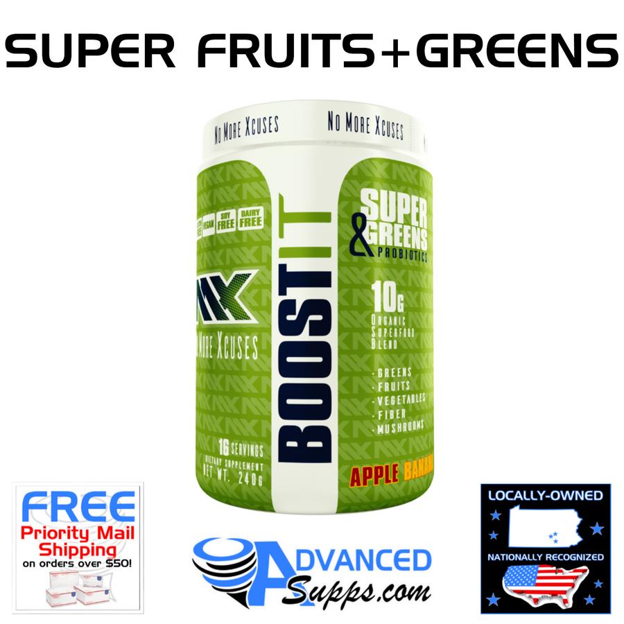 BOOST IT: Super Fruits & Greens with Probiotics!