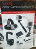 SUNPAK - DELUXE 8-Piece Action Camera Accessory Mount Kit for GoPro, Nikon, Sony