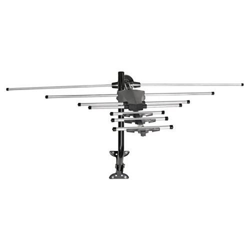 GE 33685 Pro Outdoor Antenna - Long Range Outdoor / Attic Yagi HDTV Antenna for VHF / UHF Channels - 70 Mile Range