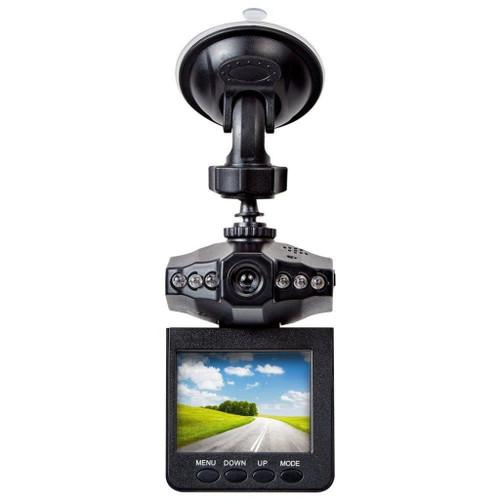 "Tristar X1000 2.5"" Dashcam Video Screen Mounts Easily, 360 Degree Pivot - Super Wide"