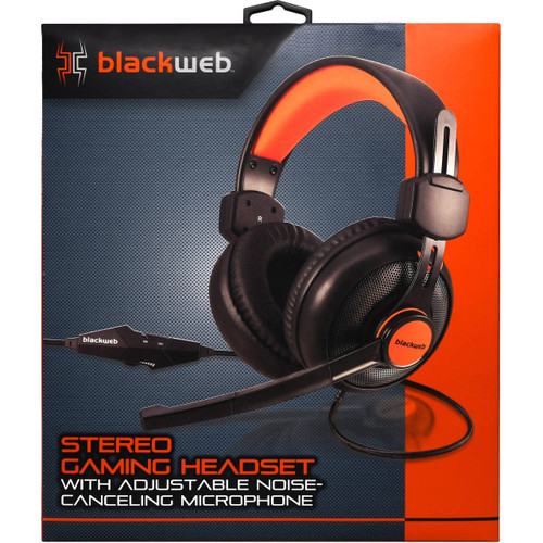BlackWeb BWA17HO005 RGB Over Ear Gaming Headset with Microphone