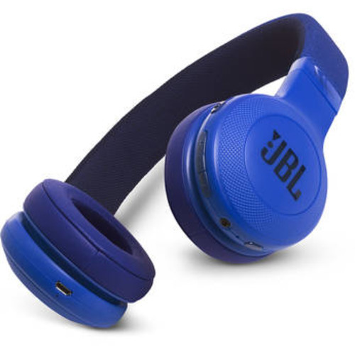 JBL E45BT Bluetooth Wireless On-Ear Headphones (Blue) JBLE45BTBLU