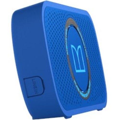 Monster Superstar High Power Portable Wireless Bluetooth Speaker Neon Blue