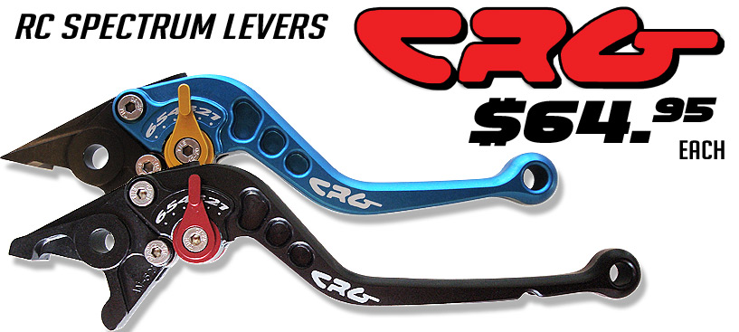 CRG Spectrum Levers only $64.95