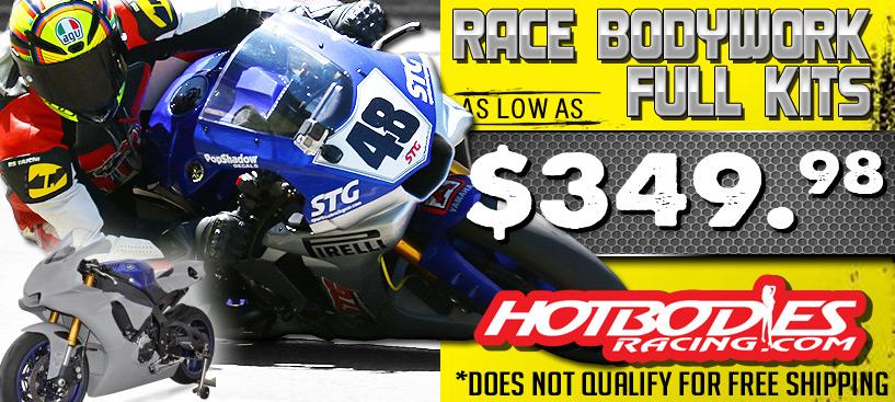 Hotbodies Race Bodywork Save 50% @ STG