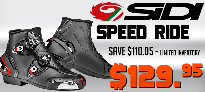 Save $110 on the Sidi Speed Ride Boots
