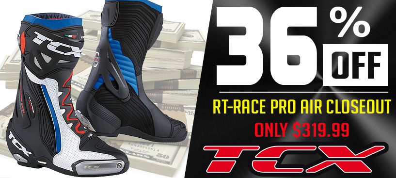 Save 36% on TCX RT-Race Pro Air Boots