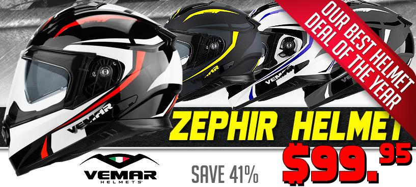 Save 41% on the Vemar Zephir Helmet