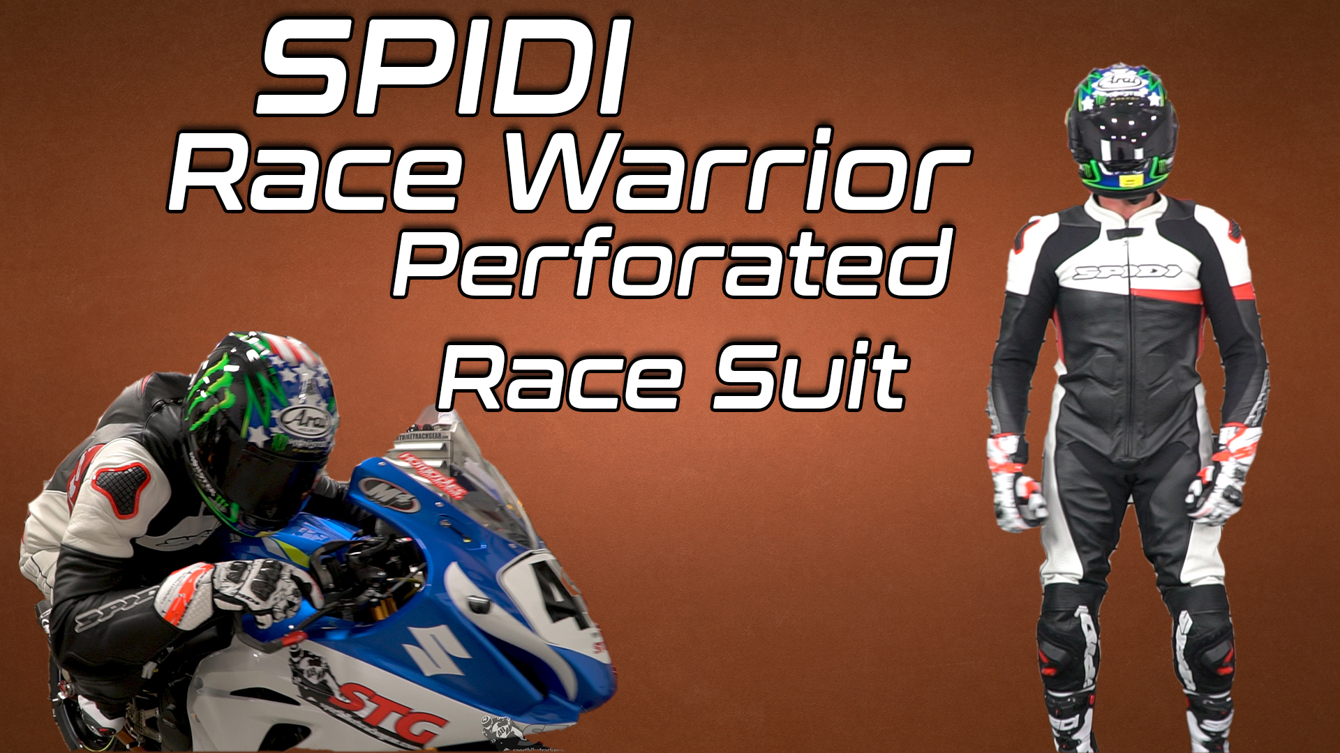 Spidi Race Warrior Perforated Race Suit
