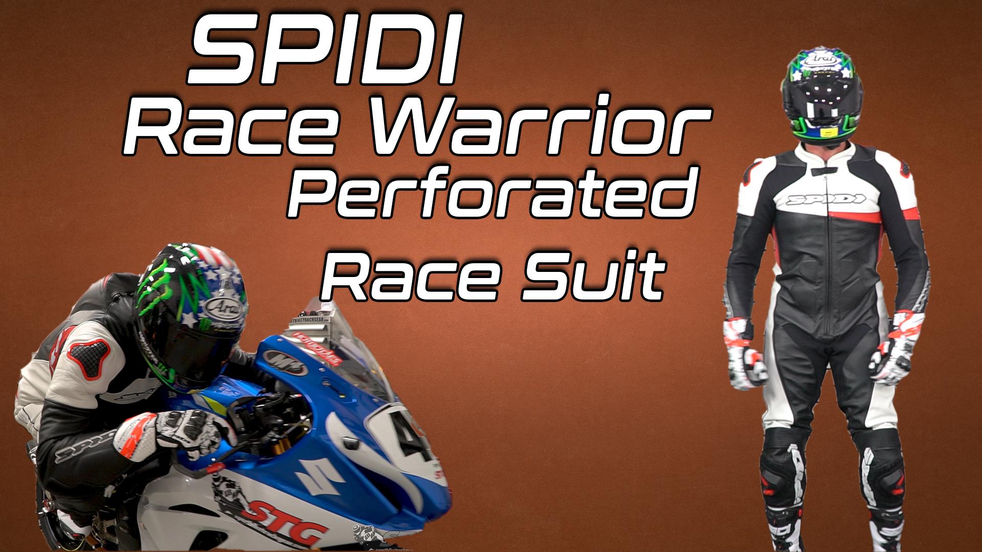 Spidi Race Warrior Perforated Race Suit