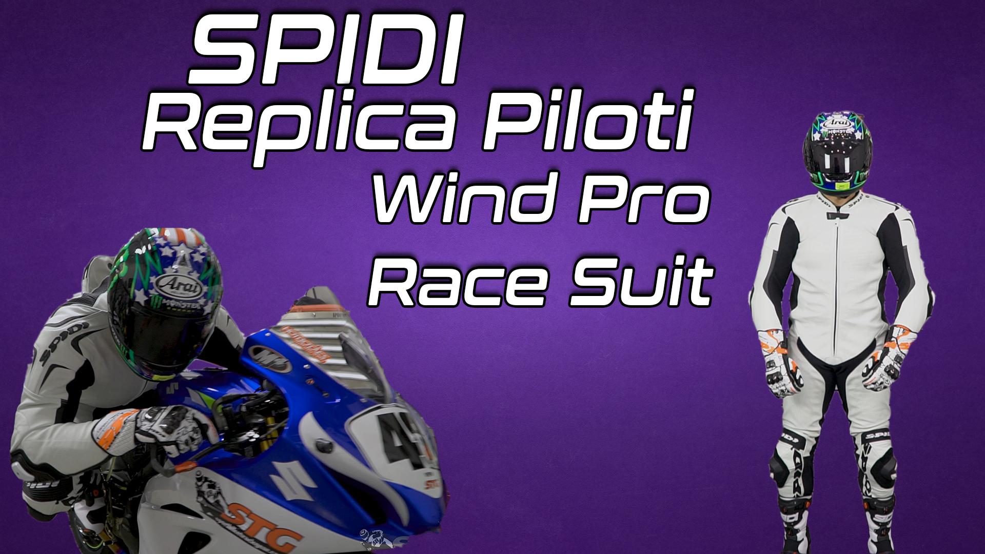 Spidi Replica Piloti Wind Pro Race Suit