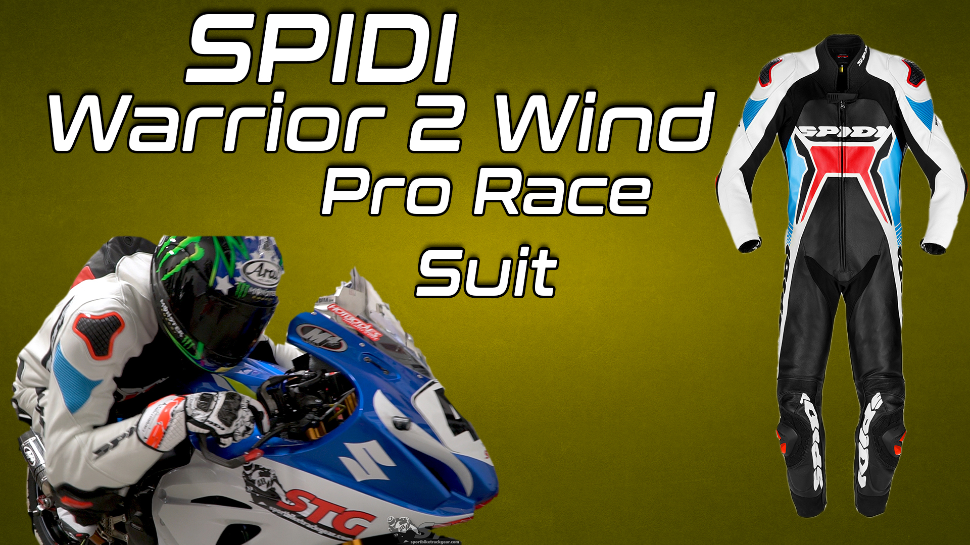Spidi Warrior 2 Wind Pro Race Suit