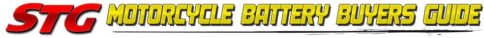 STG Motorcycle Battery Buyers Guide