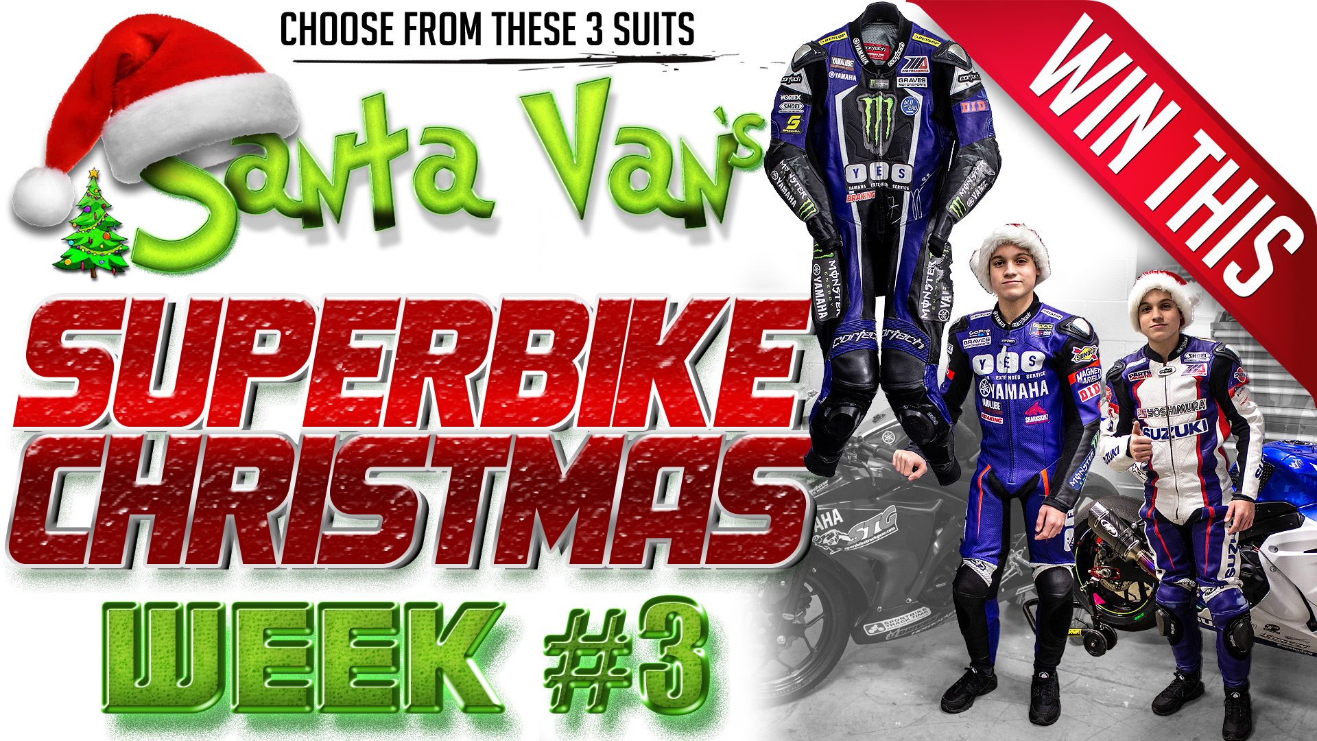 Win One of These 3 Cortech Race Suits