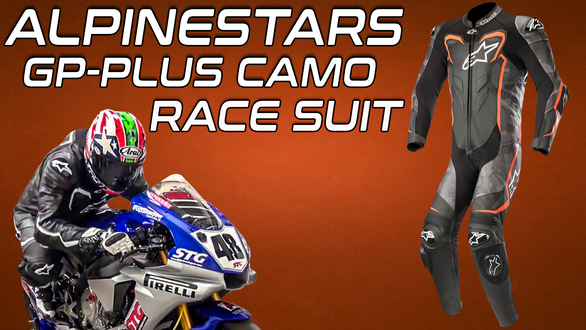 Alpinestars GP Plus Camo Race Suit